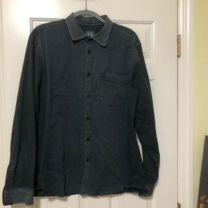 Armani Exchange Designer button shirt XL